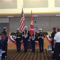 Veterans' Day Ceremony 2012