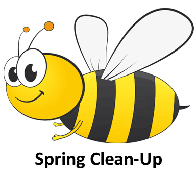 Bee Spring Clean-Up (PNG)