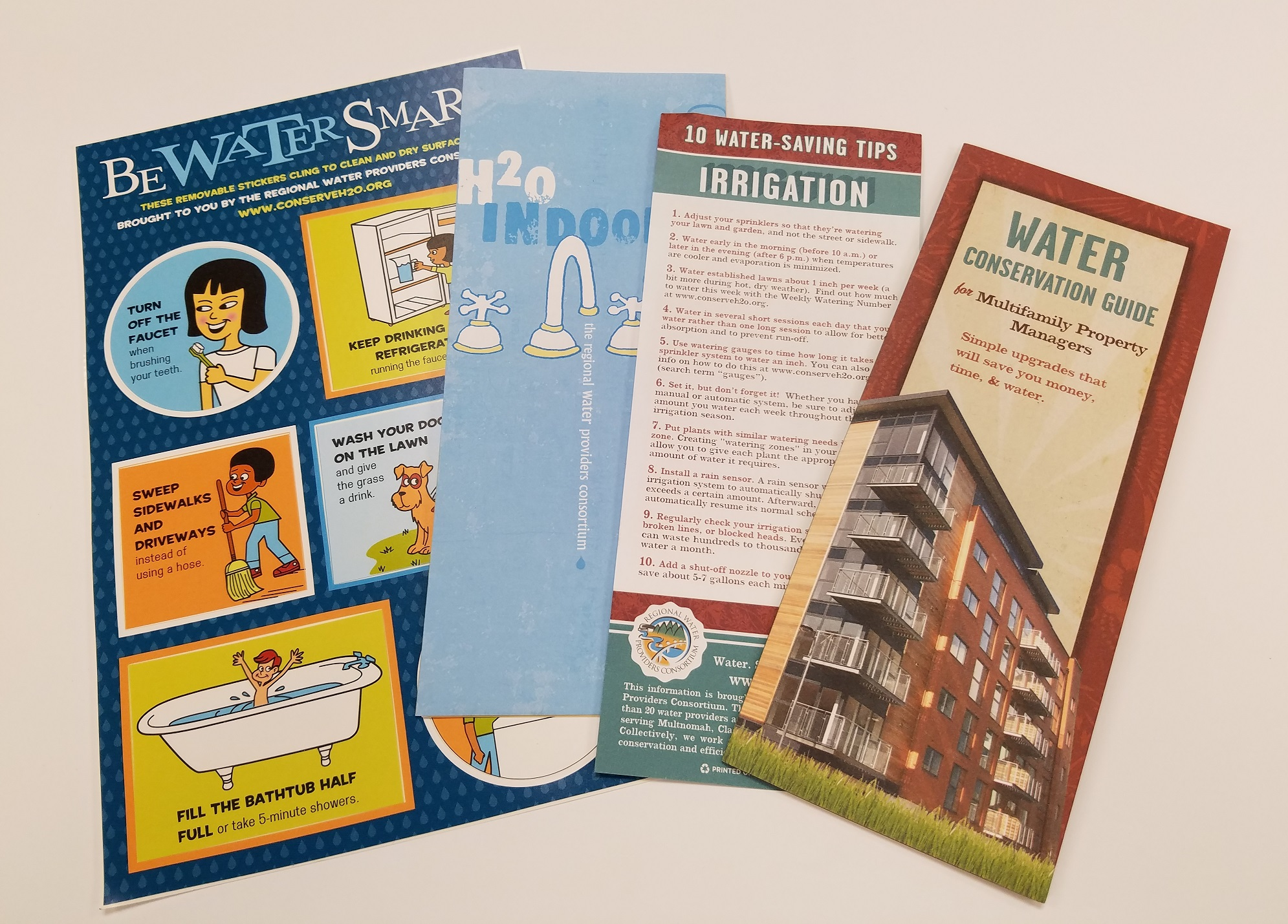 Picture Water Brochures