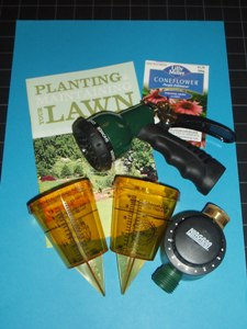 Outdoor Water Conservation Kit Items